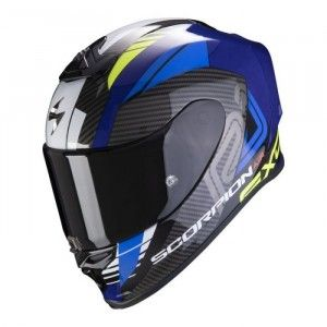 Scorpion EXO-R1 Integraalhelm Halley Blue/Neon Yellow