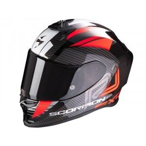 Scorpion EXO-R1 Integraalhelm Halley Metallic Black/Red