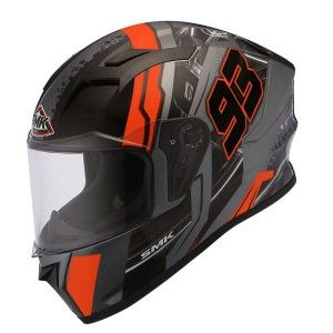 SMK Integraalhelm Stellar Swank Orange / Gray