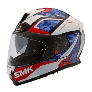 SMK Integraalhelm Twister Zest White